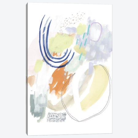Double Dutch I 3-Piece Canvas #VBO203} by Victoria Borges Canvas Print