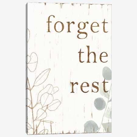 Farmhouse Mantra II Canvas Print #VBO208} by Victoria Borges Canvas Art Print