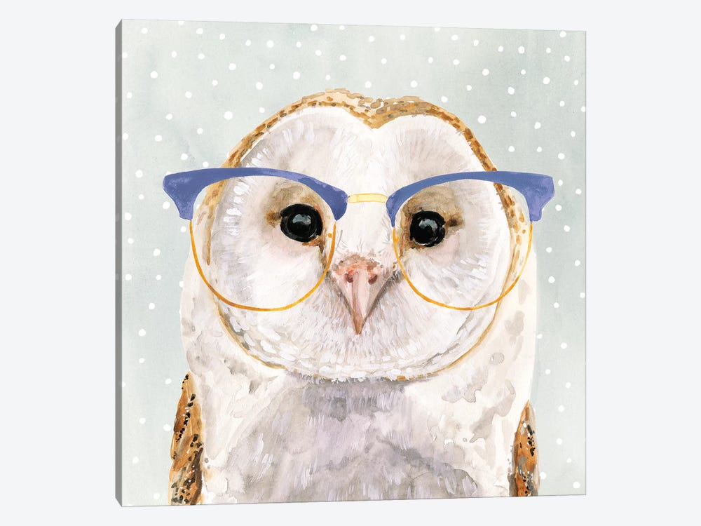 Four-eyed Forester II by Victoria Borges 1-piece Art Print
