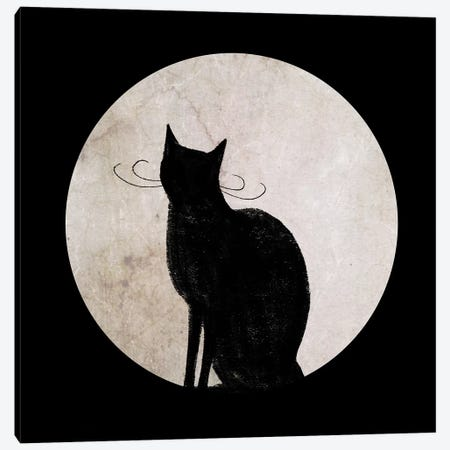 Mystic Moon I Canvas Print #VBO231} by Victoria Borges Canvas Artwork