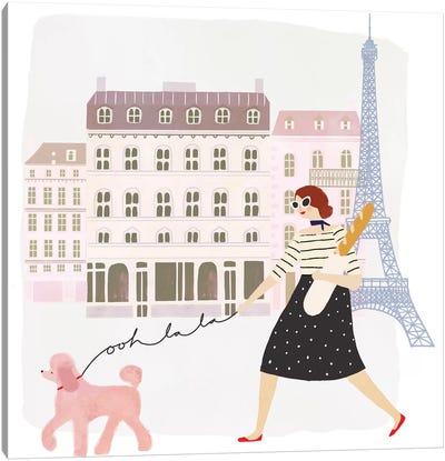 Paris People I Canvas Art Print