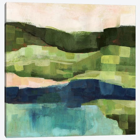 Pastoral Patchwork I 3-Piece Canvas #VBO245} by Victoria Borges Canvas Artwork