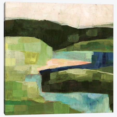 Pastoral Patchwork II 3-Piece Canvas #VBO246} by Victoria Borges Canvas Art