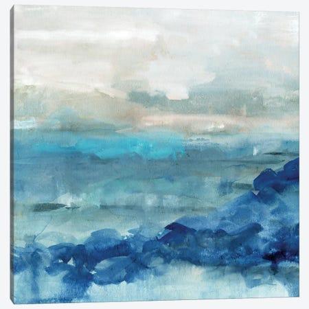 Sea Swell I Canvas Print #VBO259} by Victoria Borges Canvas Art