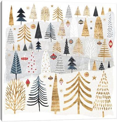 Christmas Chalet III Canvas Art Print