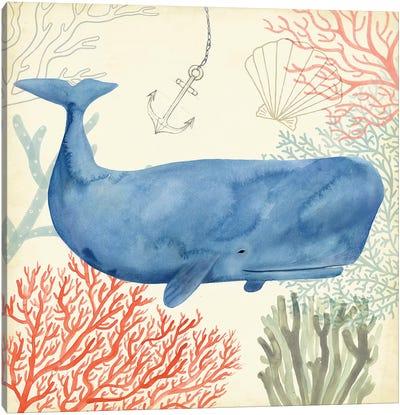 Underwater Whimsy I Canvas Art Print