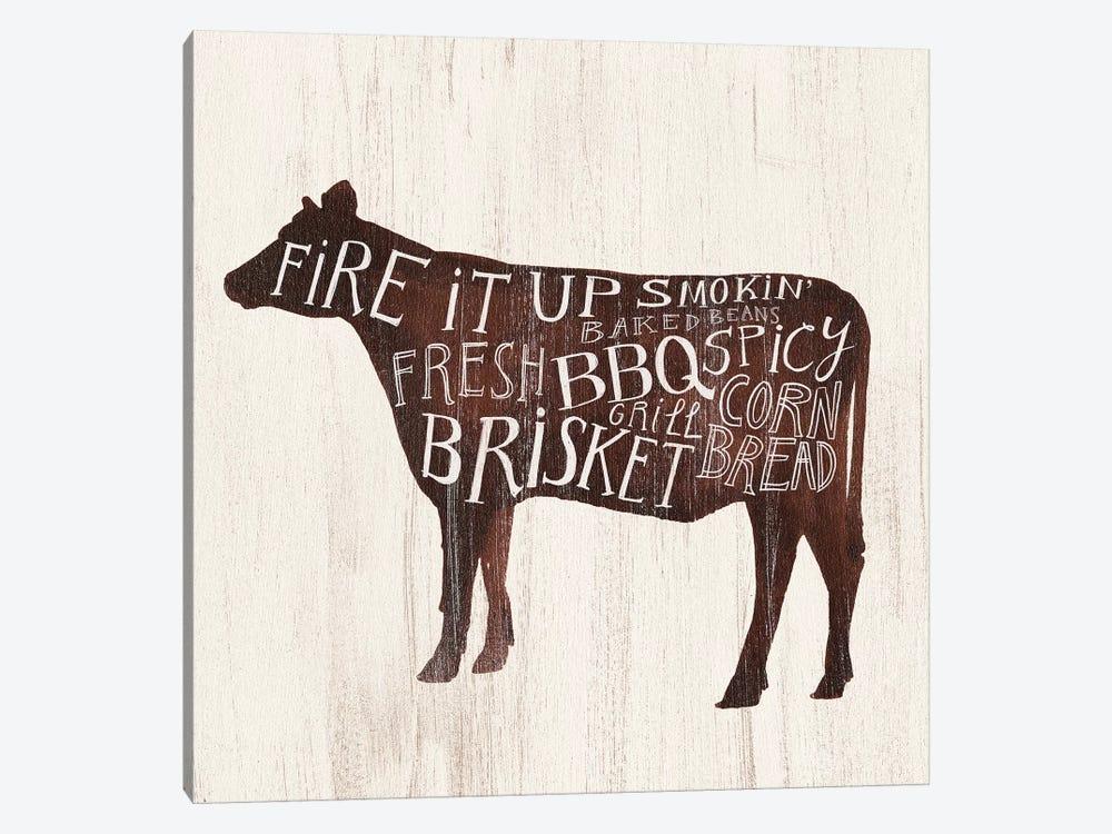 Farmhouse BBQ II by Victoria Borges 1-piece Canvas Artwork