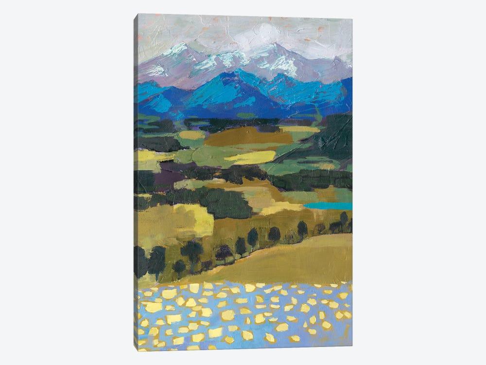 Alpine Impression II by Victoria Borges 1-piece Canvas Art Print