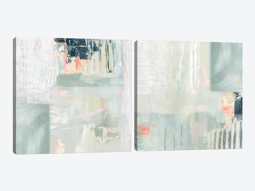 Fray Diptych by Victoria Borges 2-piece Art Print