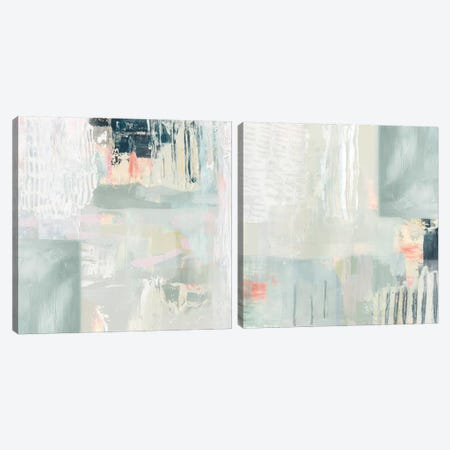 Fray Diptych Canvas Print Set #VBO2HSET004} by Victoria Borges Canvas Artwork