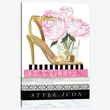 Get Glam I Canvas Print #VBO308} by Victoria Borges Canvas Art