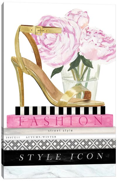 Get Glam I Canvas Art Print