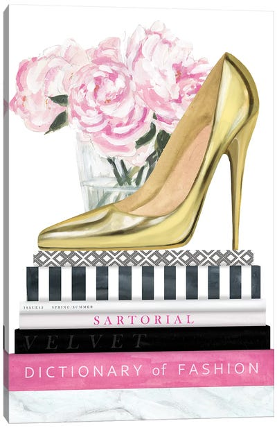 Get Glam II Canvas Art Print