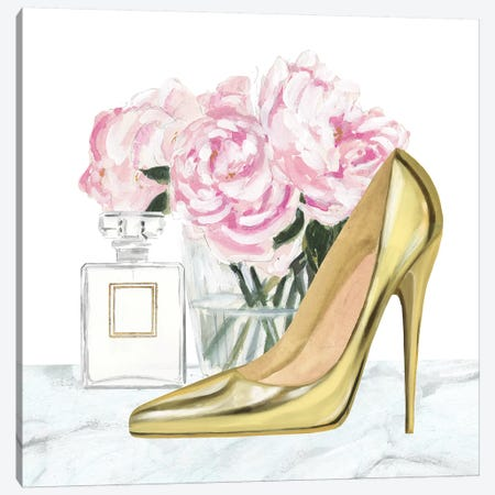 Get Glam VIII Canvas Print #VBO316} by Victoria Borges Canvas Artwork