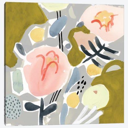 Honeydew Twist I Canvas Print #VBO318} by Victoria Borges Canvas Print