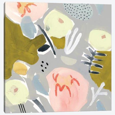 Honeydew Twist II Canvas Print #VBO319} by Victoria Borges Art Print