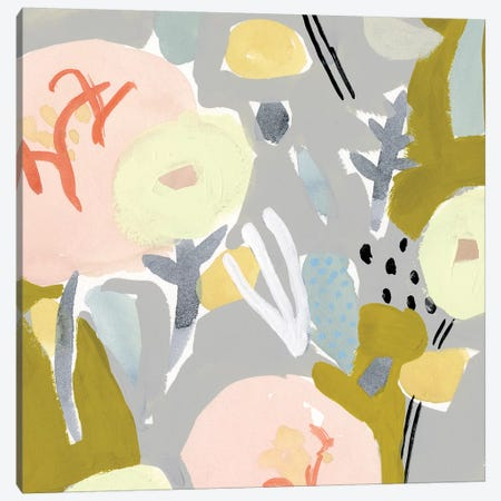 Honeydew Twist IV 3-Piece Canvas #VBO321} by Victoria Borges Canvas Wall Art