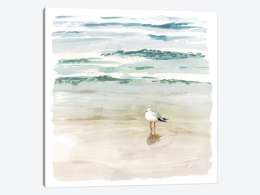 Seagull Cove II by Victoria Borges 1-piece Canvas Art Print
