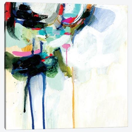 Collider IV 3-Piece Canvas #VBO359} by Victoria Borges Art Print
