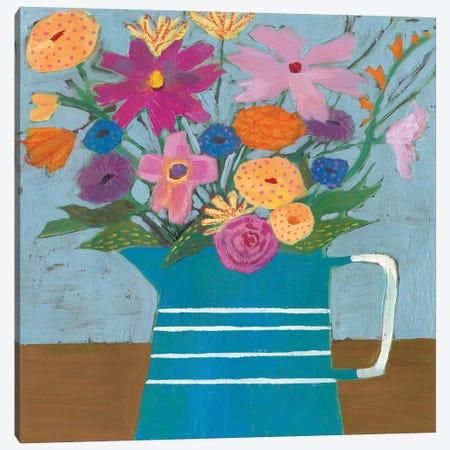 Farmhouse Flora I Canvas Print #VBO35} by Victoria Borges Art Print