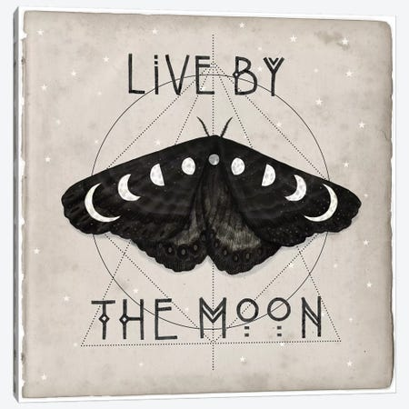 Live By The Moon I Canvas Print #VBO364} by Victoria Borges Canvas Print