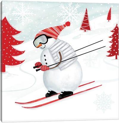 Snow Day II Canvas Art Print