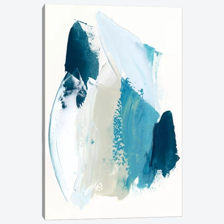Cobalt Crush I Canvas Print #VBO373} by Victoria Borges Art Print