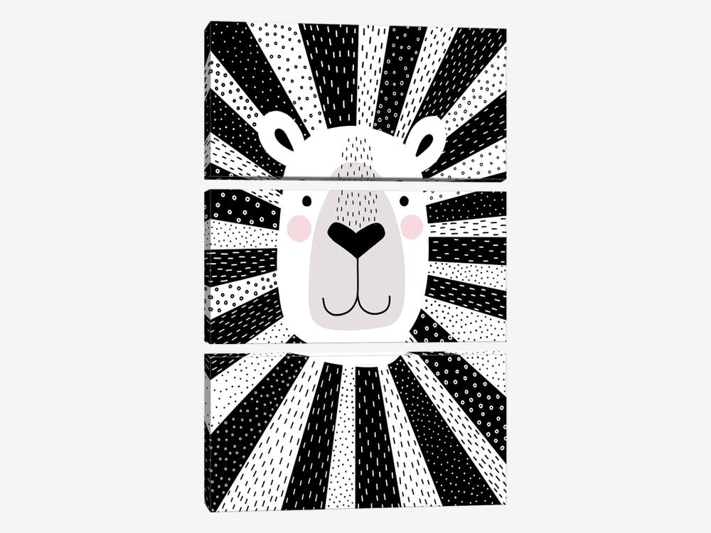 Mix & Match Animal I 3-piece Canvas Art