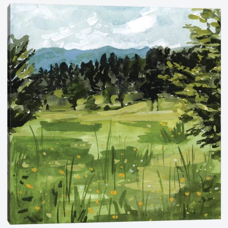 Mountain Moment II 3-Piece Canvas #VBO398} by Victoria Borges Art Print