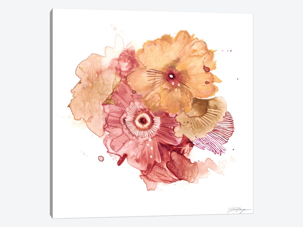 Blossom Burst I by Victoria Borges 1-piece Canvas Wall Art