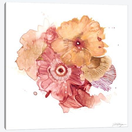 Blossom Burst I Canvas Print #VBO3} by Victoria Borges Art Print