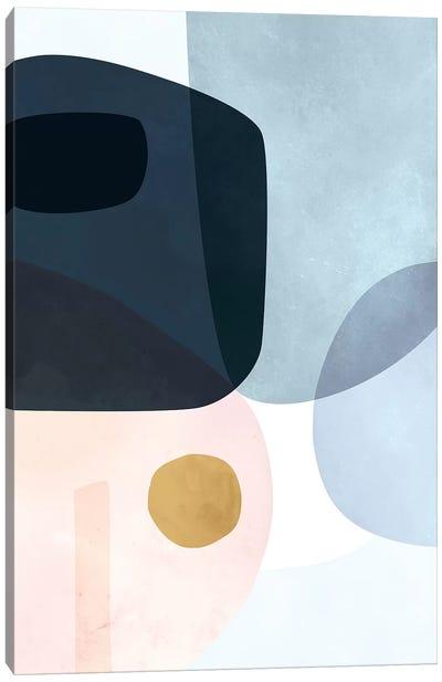 Gold Monde I Canvas Art Print
