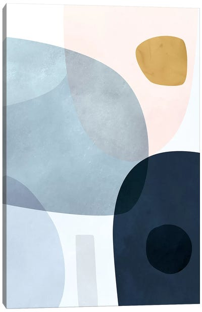 Gold Monde II Canvas Art Print