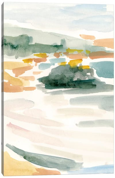 Golden Coast I Canvas Art Print