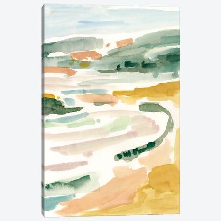 Golden Coast II Canvas Print #VBO425} by Victoria Borges Canvas Art