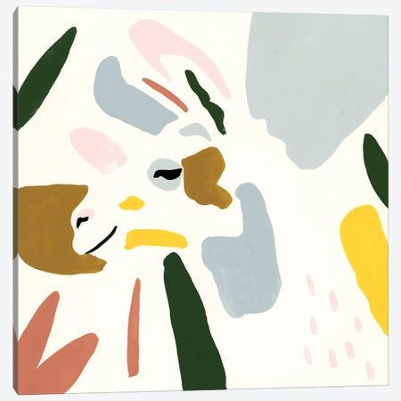 Llama Moderne IV Canvas Print #VBO433} by Victoria Borges Canvas Artwork