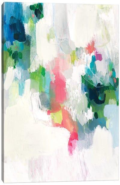 Raspberry & Teal II Canvas Art Print