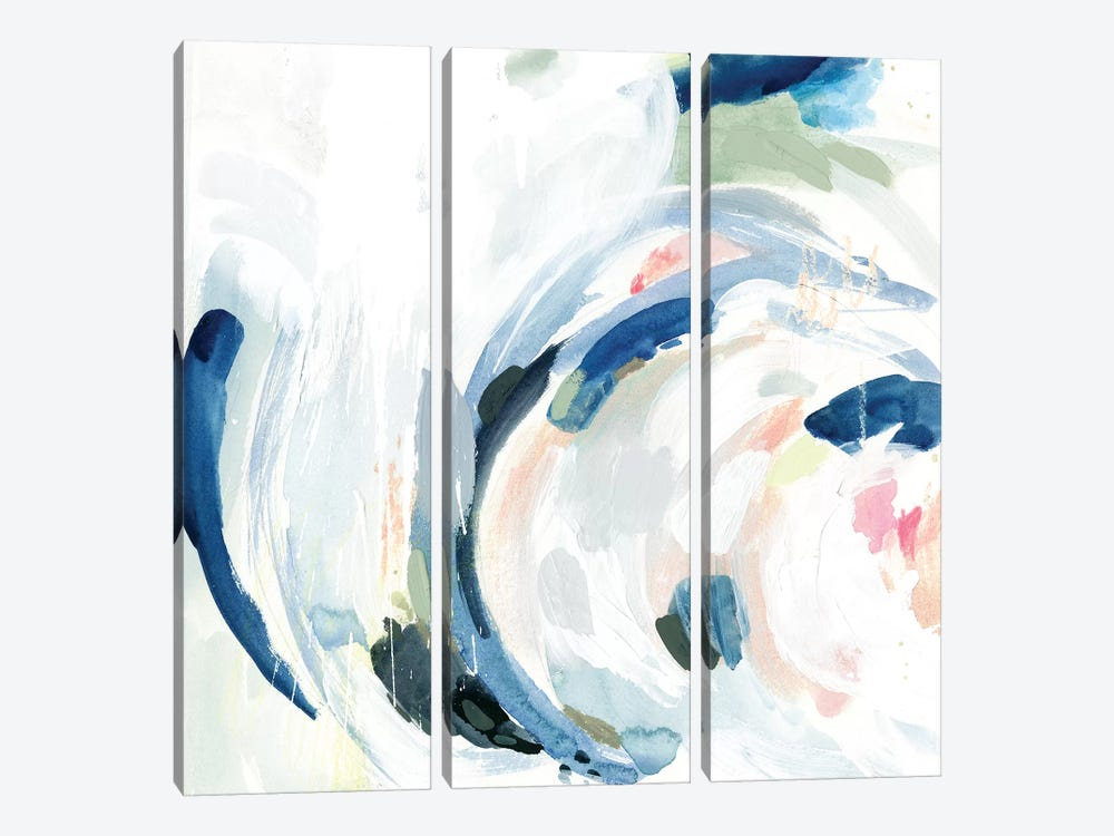 Tailspin I by Victoria Borges 3-piece Canvas Artwork