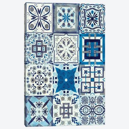 Kaleidoscope Tile I Canvas Print #VBO45} by Victoria Borges Canvas Artwork