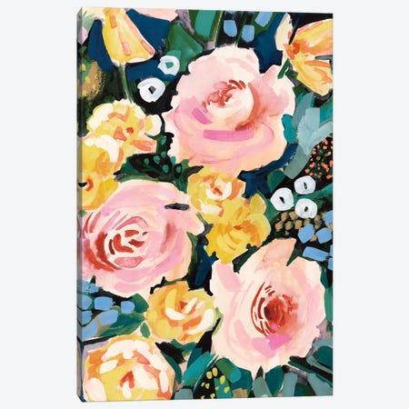 Flower Jumble I Canvas Print #VBO469} by Victoria Borges Canvas Art Print
