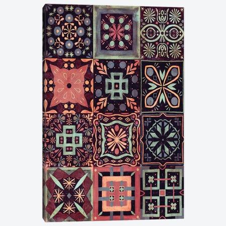 Kaleidoscope Tile IV Canvas Print #VBO48} by Victoria Borges Canvas Art Print