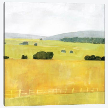 Soft Fieldscape I 3-Piece Canvas #VBO491} by Victoria Borges Canvas Artwork