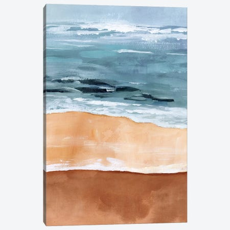 Shore Layers I Canvas Print #VBO499} by Victoria Borges Canvas Artwork