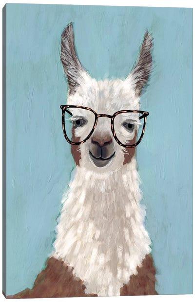 Llama Specs I Canvas Art Print