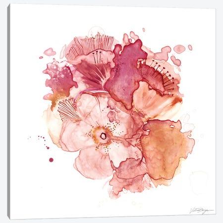 Blossom Burst II Canvas Print #VBO4} by Victoria Borges Canvas Artwork