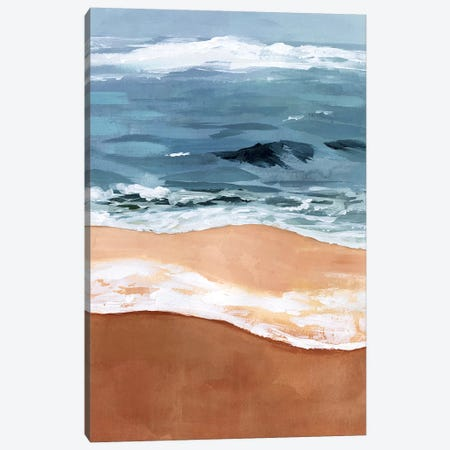 Shore Layers II Canvas Print #VBO500} by Victoria Borges Canvas Art