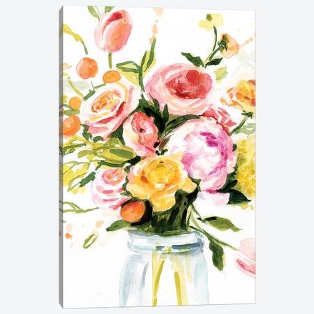 Loose Arrangement I 3-Piece Canvas #VBO501} by Victoria Borges Canvas Artwork