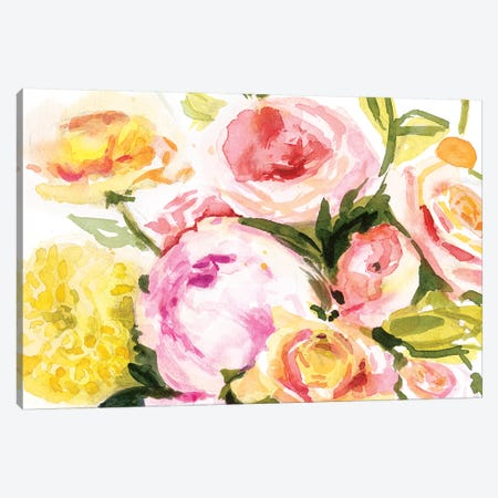 Loose Arrangement IV Canvas Print #VBO504} by Victoria Borges Art Print