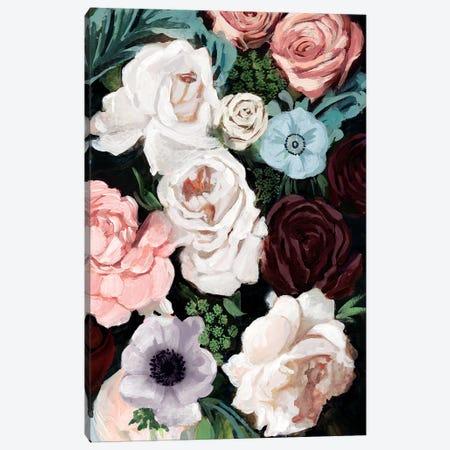 Floral Nocturne I Canvas Print #VBO513} by Victoria Borges Canvas Art Print