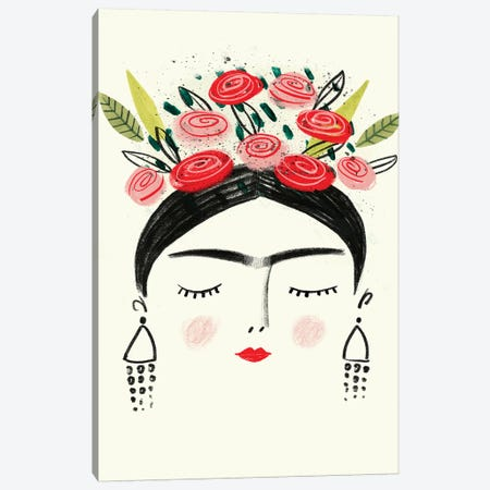 Frida's Dreams I Canvas Print #VBO515} by Victoria Borges Canvas Wall Art